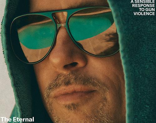 Brad Pitt cover Brad Pitt si racconta su GQ