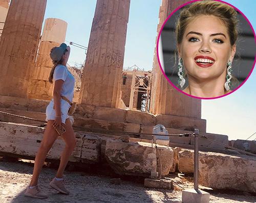 Kate Upton Kate Upton, vacanze di settembre in Grecia