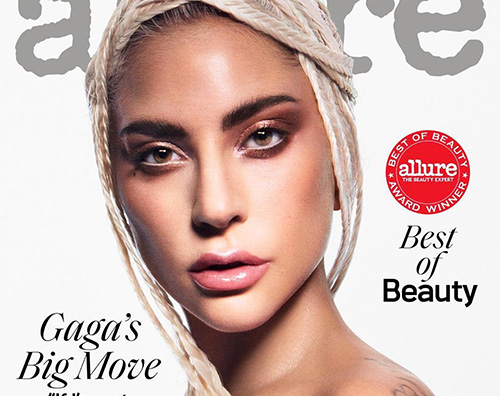 Lady Gaga Lady Gaga è sulla cover di Allure