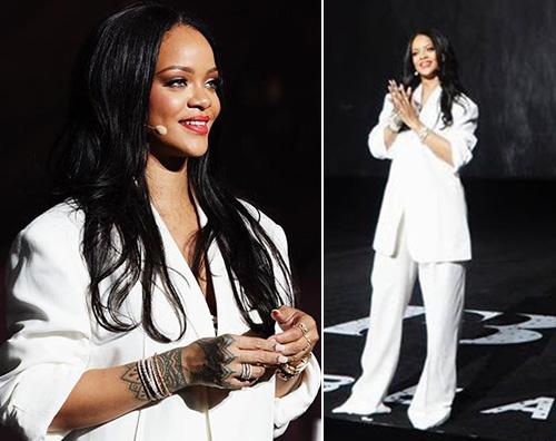 Rihanna 1 Rihanna, due look hot a Seul