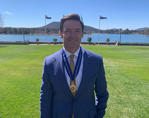 hugh jackman Hugh Jackman premiato in Australia