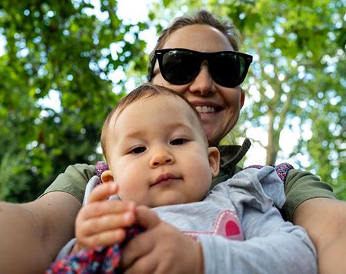 kate hudson Kate Hudson, selfie con Rani