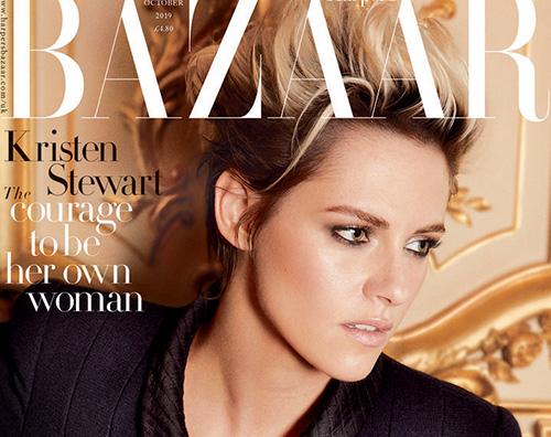 kristen stewart cover Kristen Stewart parla di Robert Pattinson su Harpers Bazaar UK