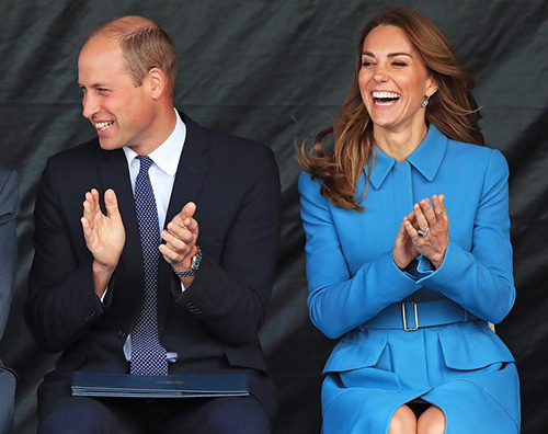 william e kate Kate Middleton ricicla un look del 2014