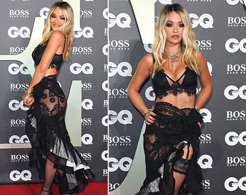 Rita Ora Rita Ora è hot ai GQ Man Of The Year Awards