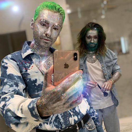 71187010 503935816828649 6878298636398314848 n Heidi Klum e Tom Kaulitz glitterati per il party di Halloween di Paris Hilton