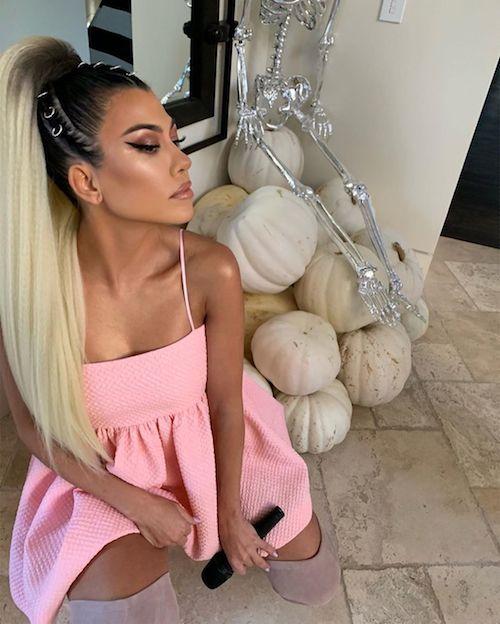73318803 945705605798299 526763548869425924 n Kourtney Kardashian è Ariana Grande su Instagram