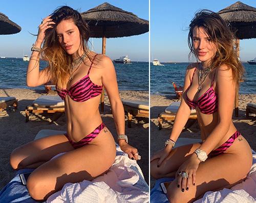 Bella Thorne Bella Thorne, compleanno al mare