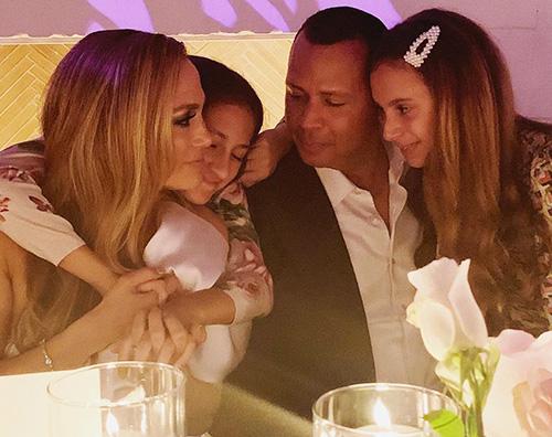 Jlo Jennifer Lopez e Alex Rodriguez, party di fidanzamento