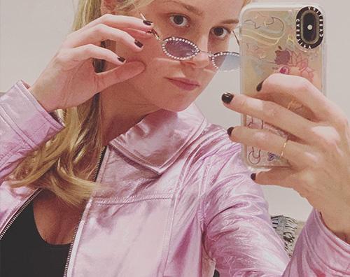brie larson Brie Larson e il look ispirato a Britney Spears