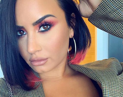 demi lovato Demi Lovato ha cambiato look, di nuovo