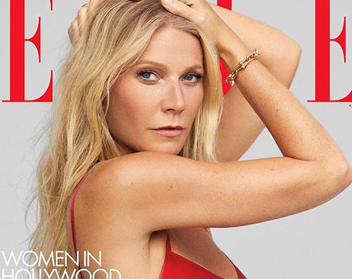 gwyneth paltrow Gwyneth Paltrow in topless su Elle USA