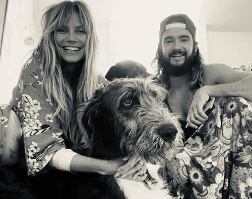 heidi klum tom Heidi Klum e Tom Kaulitz, domenica in famiglia