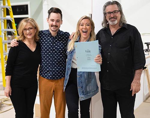 hilary duff 2 Reunion a sorpresa per il cast di Lizzie McGuire