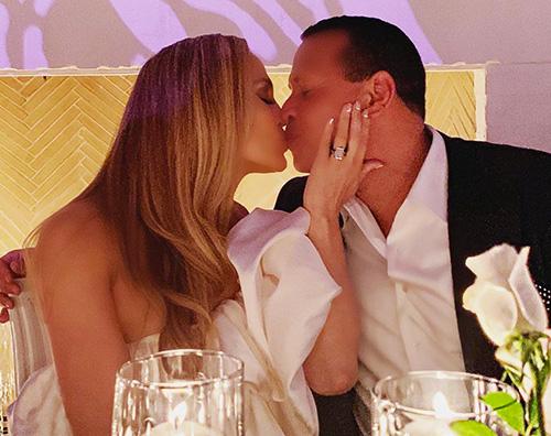 jlo 2 Jennifer Lopez e Alex Rodriguez, party di fidanzamento