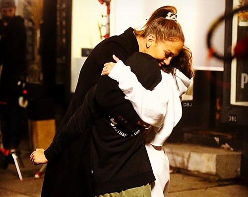 Sorpresa sul set per Jennifer Lopez