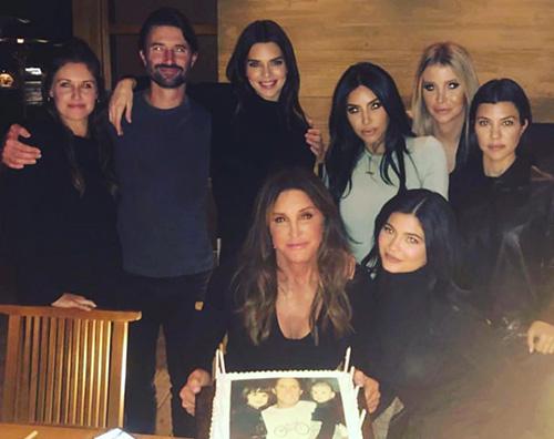kardashian Caitlyn Jenner, festa in famiglia per i suoi 70 anni