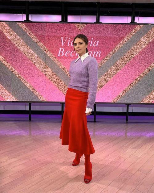 victoria beckham Victoria Beckham stilosa in TV