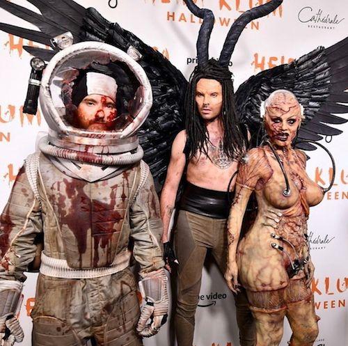73385849 144876506887206 520849635295814861 n Heidi Klum è un alieno per Halloween