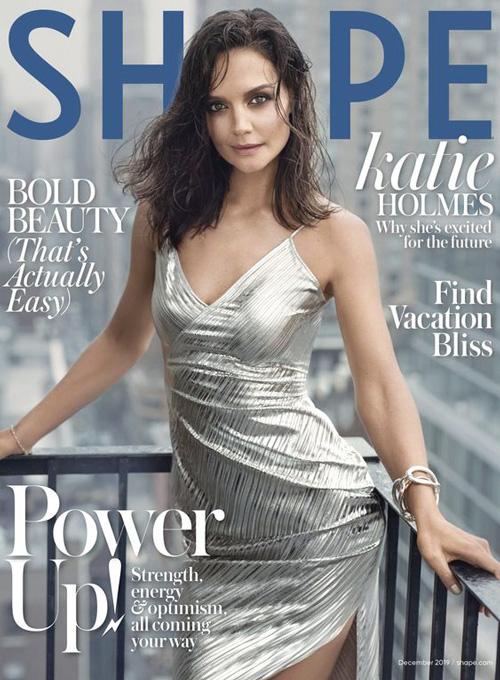 Katie Holmes Katie Holmes è sexy sulla cover di Shape