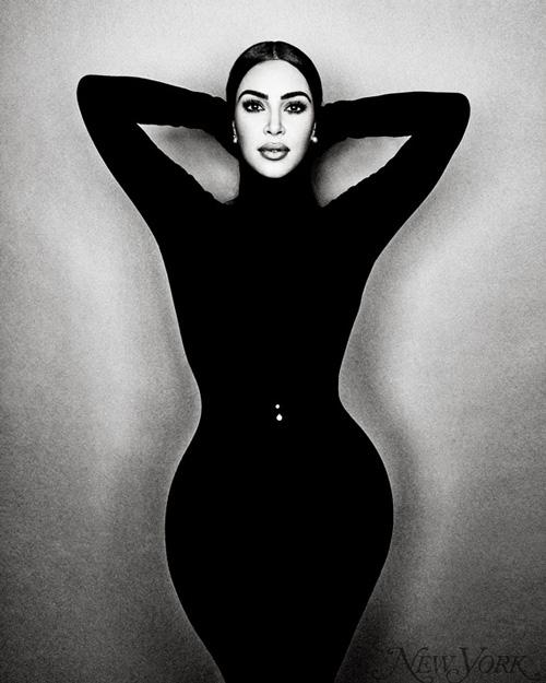 Kim K Kim Kardashian è sulla cover di New York Magazine
