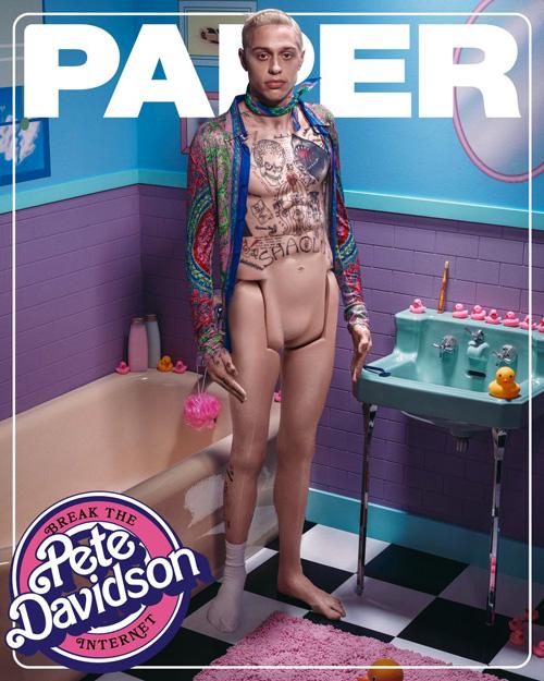 Pete Davidson Pete Davidson è Ken su Paper Magazine