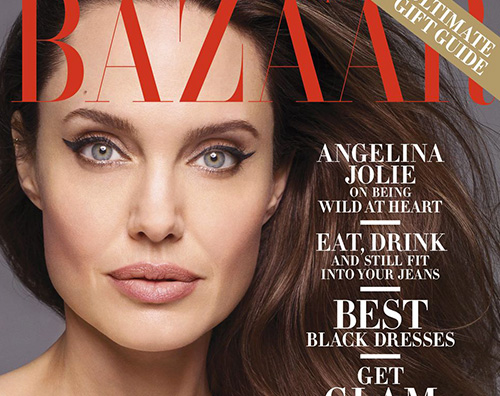 angelina jolie cover Angelina Jolie: Vorrei vivere allestero