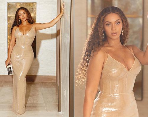 Beyonce, una dea al gala di Jay Z