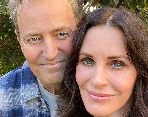 courtney cox matthew perry Courteney Cox e Matthew Parry fanno sognare i fan su Instagram