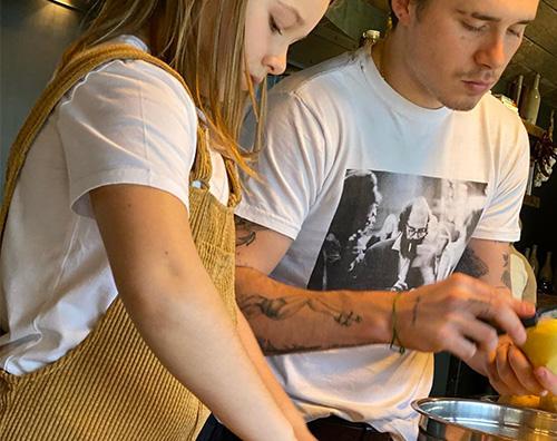 david beckham figli David Beckham prepara il pranzo della domenica