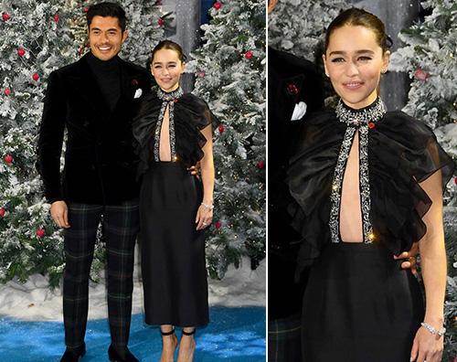 emilia clarke Emilia Clarke presenta Last Christmas a Londra