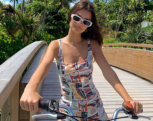 emily ratajkowski Emily Ratajkowski, vacanza hot alle Maldive