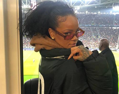 juventus Rihanna tifa Juve a Torino
