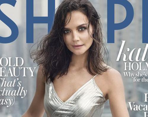 katie holmes 2 Katie Holmes è sexy sulla cover di Shape