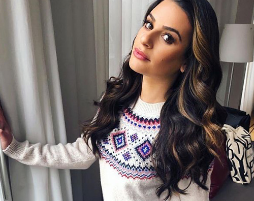 lea michele 2 Lea Michele si allena a poche settimane dal parto