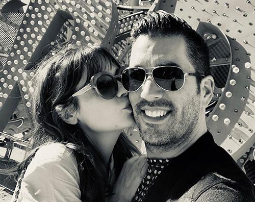 zooey deschanel e jonathan scott Zooey Deschanel bacia il suo Jonathan su Instagram