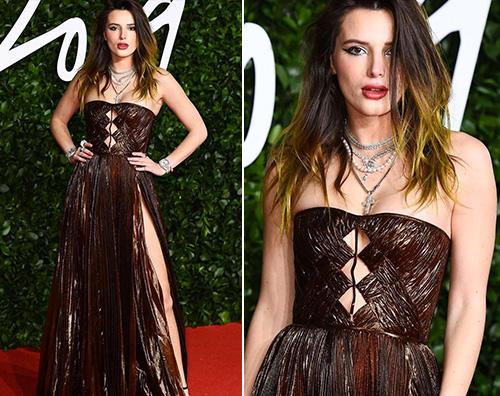 bella thorne Bella Thorne, spacco hot ai Fashion Awards 2019