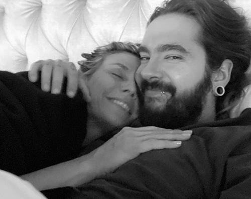 heidi klum 3 Heidi Klum e Tom Kaulitz, coccole social