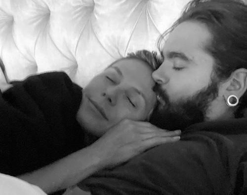 heidi klum Heidi Klum e Tom Kaulitz, coccole social