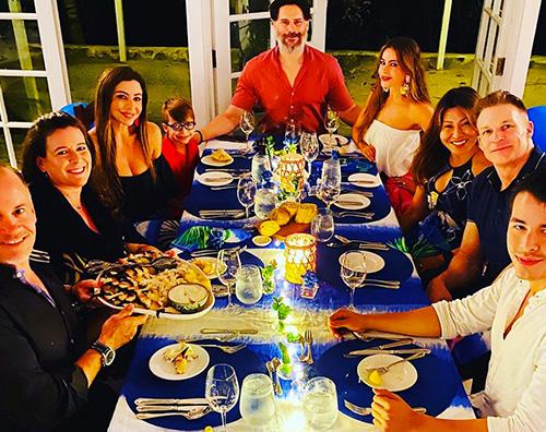 joe sofia Sofia Vergara festeggia il compleanno di Joe Manganiello