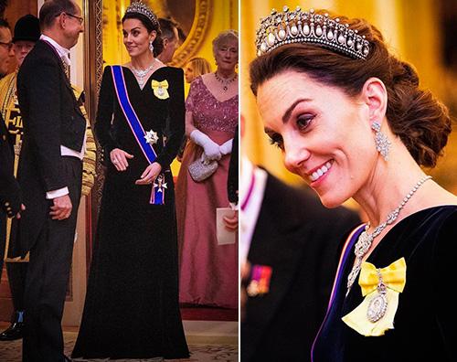kate middleton Kate Middleton come Diana a Buckingham Palace