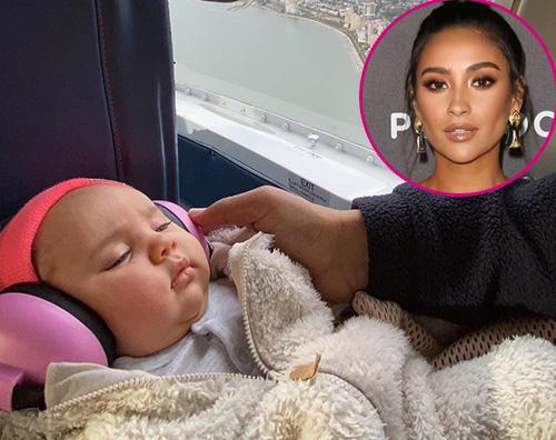 shay mitchell 1 Shay Mitchell viaggia con la sua bambina
