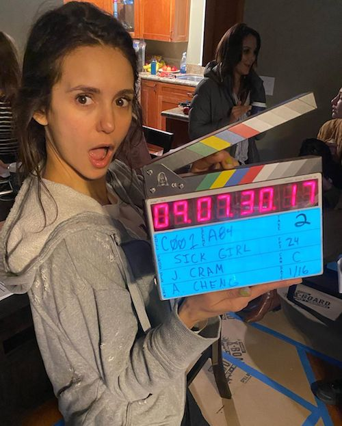 81974823 163707388231287 2644741712628310966 n Nina Dobrev sul set di Sick Girl