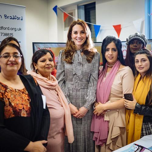 Kate Middleton Kate Middleton, abito low cost a Bradford