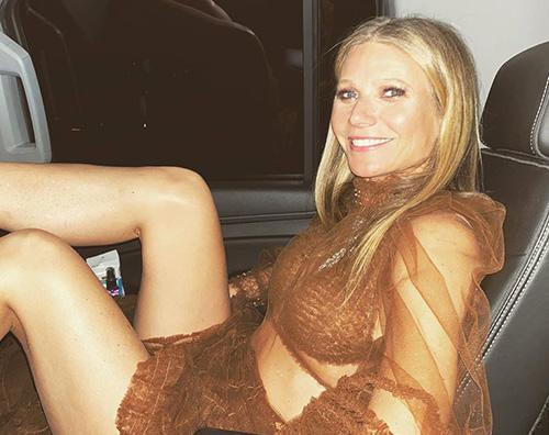 gwyneth paltrow Gwyneth Paltrow sfinita dopo i Golden Globes