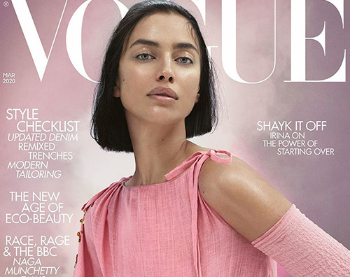 irina shayk Irina Shayk parla di Bradley Cooper su British Vogue