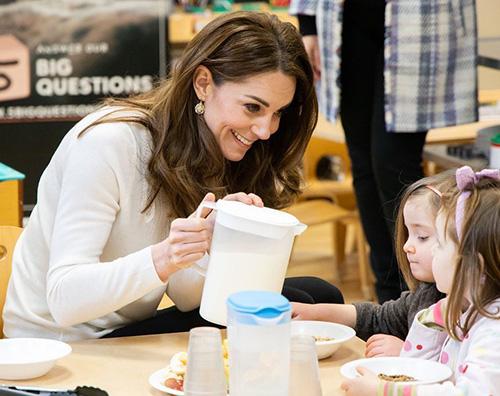 kate middleton 1 Kate Middleton sceglie la semplicità a Londra