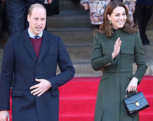 Kate Middleton, abito low cost a Bradford