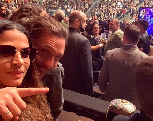 matthrew e camila Matthew McConaughey e Camila, appuntamento senza i bambini