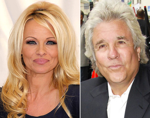 pamela anderson jon peters Pamela Anderson ha sposato Jon Peters in segreto